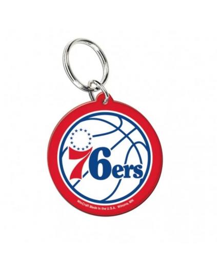 Acrylic Keyring Philadelphia 76ers