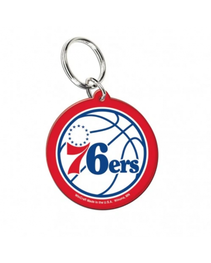 Llavero Acrílico Philadelphia 76ers