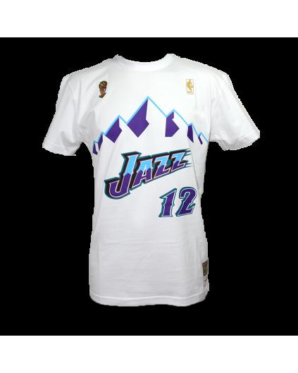 NBA John Stockton Jazz Tee