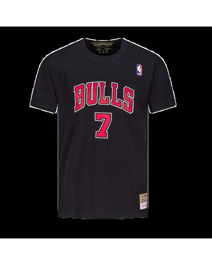 Camiseta Negra NBA Toni Kukoc Bulls