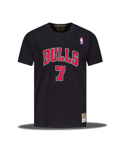 NBA Toni Kukoc Bulls Black Tee