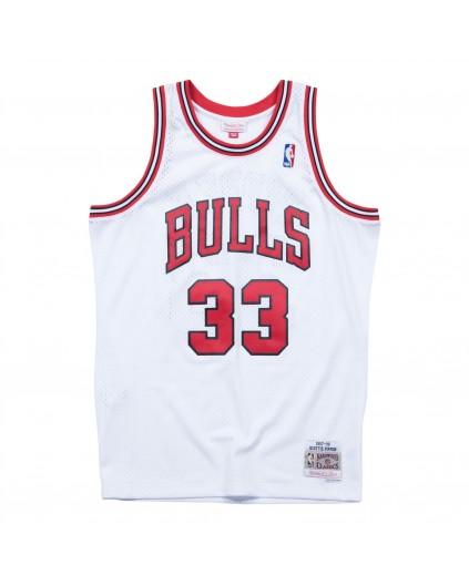 Swingman Scottie Pippen Bulls White