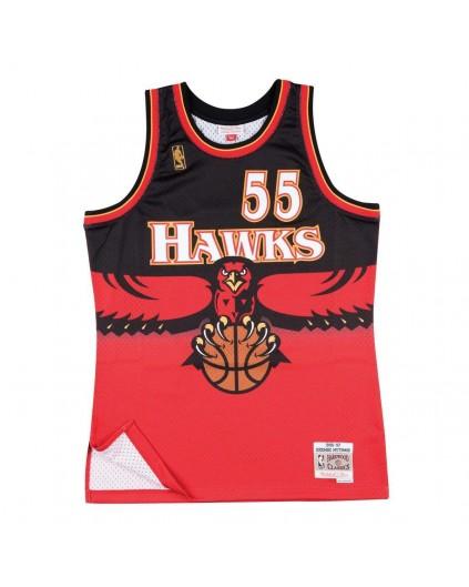 Swingman Dikembe Mutombo Atlanta Hawks