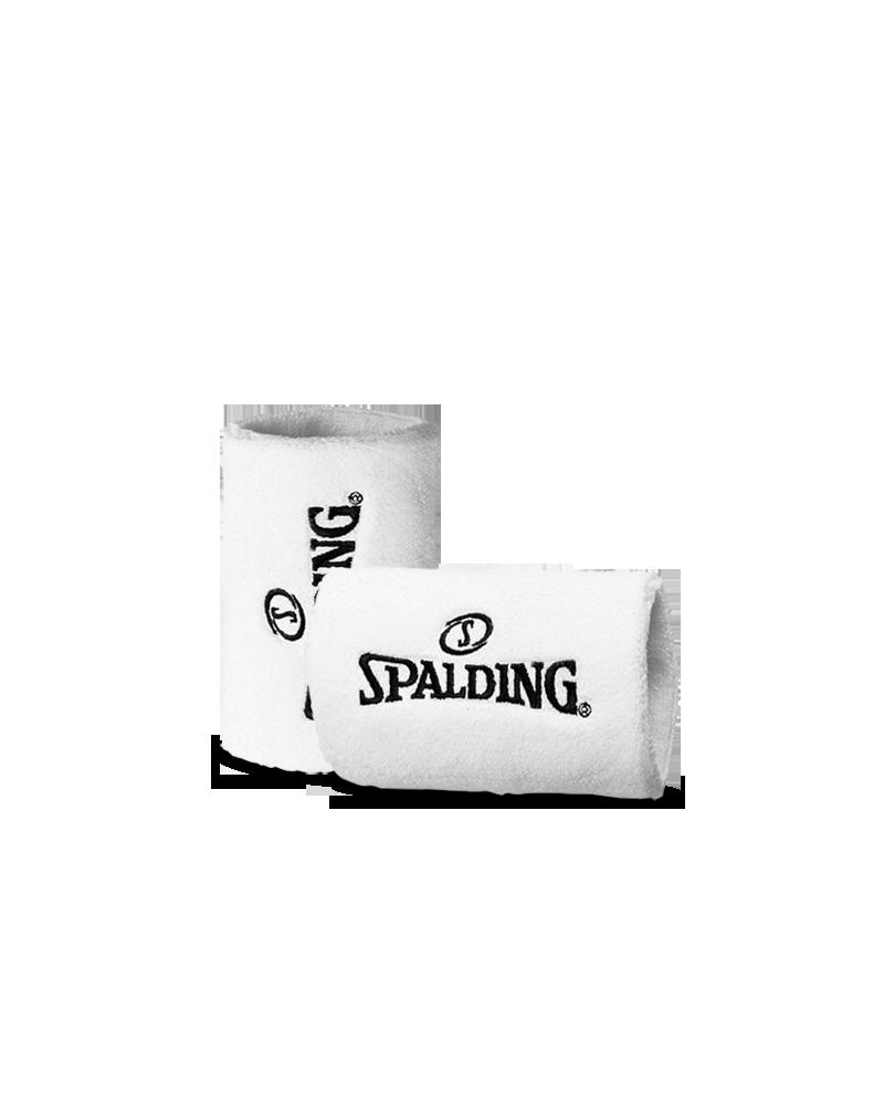 Spalding wristband white